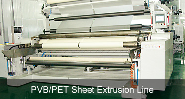 PVB sheet extrusion line