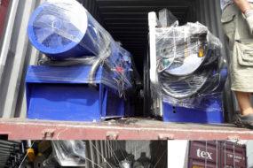 Kerke twin screw extruder shipping month